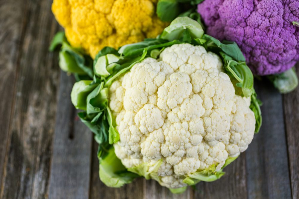 Cauliflower contributes to weight loss and helps to lose weight