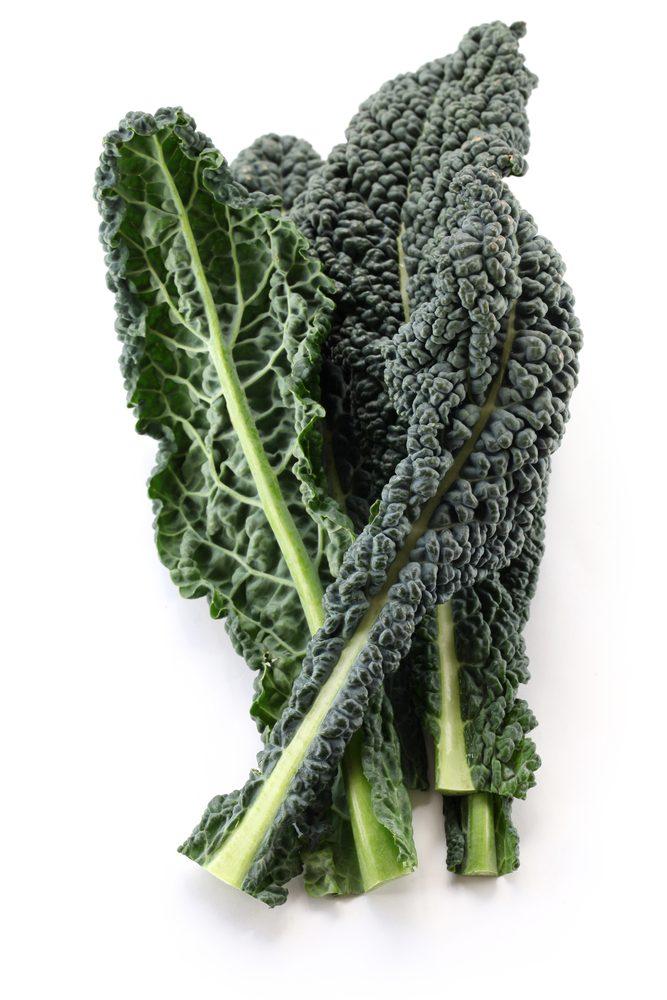 Le kale (ou chou frisé)