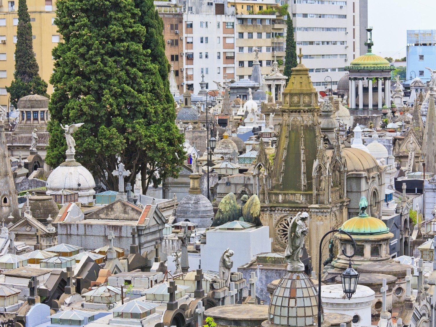 Cementerio de la Recoleta (Cimetière de Recoleta)