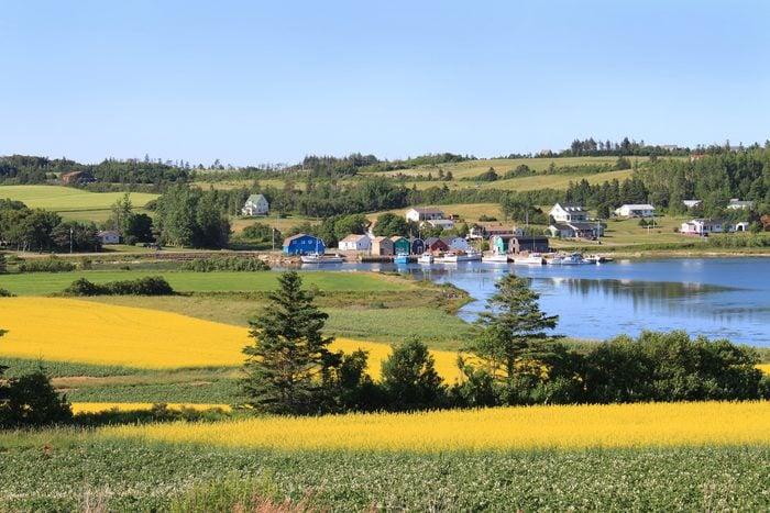 Le circuit côtier des pointes de l'est, à l'Île-du-Prince-Edouard
