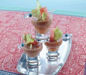 9. Cordial au melon d'eau, au gingembre et au céleri