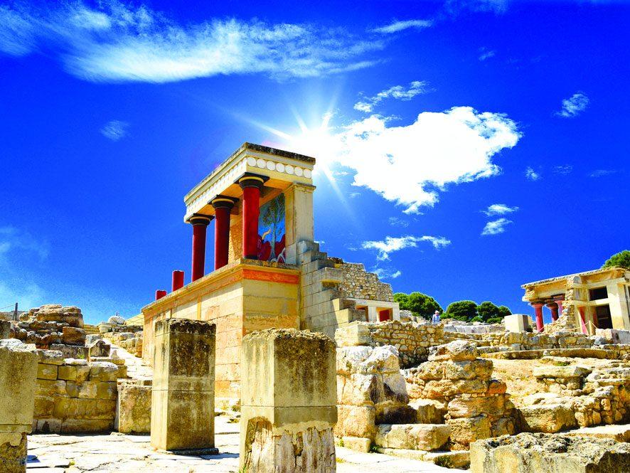 8. Le palais de Cnossos, Crète