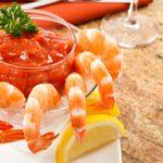 «Cocktails» de crevettes