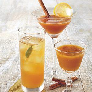 4. Cocktail Boubon-citrouille
