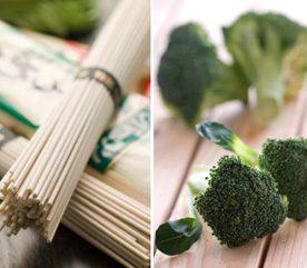 2. Pour fortifier votre cœur, combinez nouilles soba et brocoli