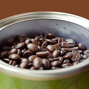 5. Purifiez l'air avec des grains de café