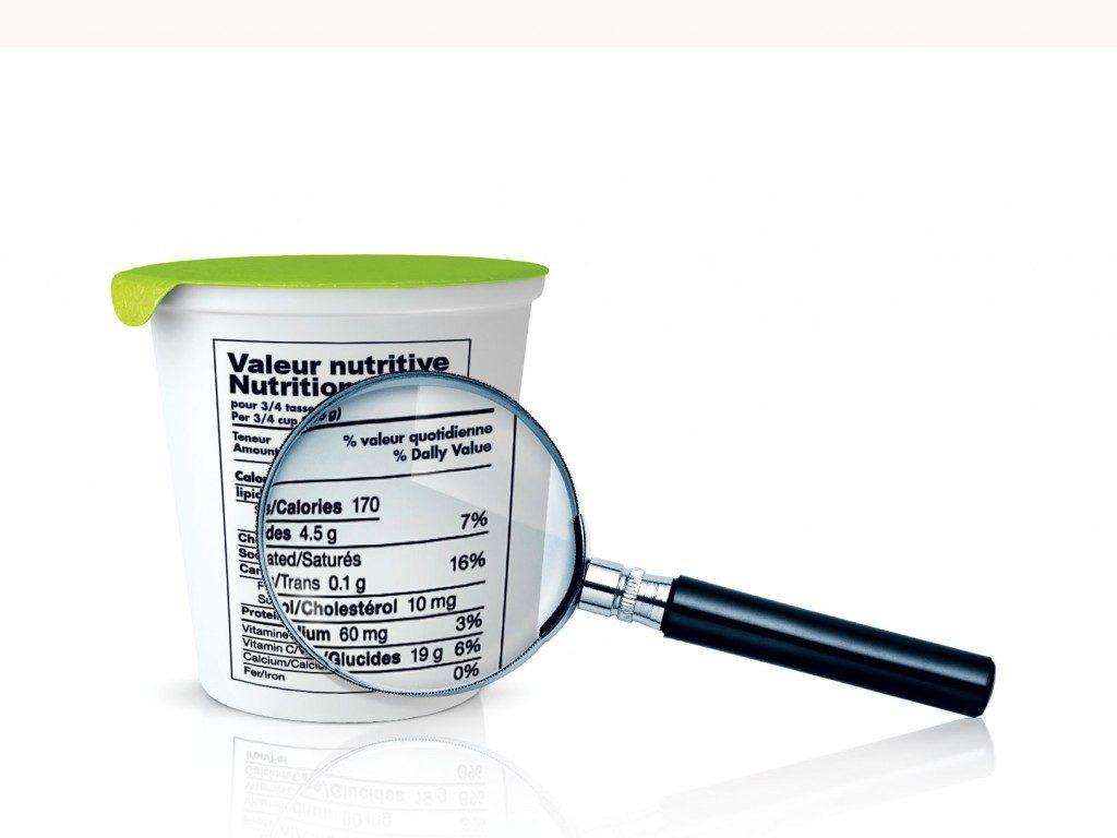 Comment lire les étiquettes nutritionnelles