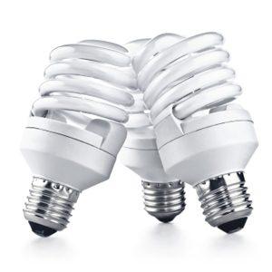 1. Ampoules fluorescentes compactes (AFC)