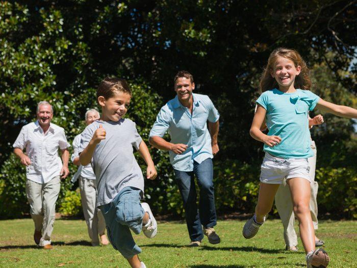 4. Organisez des compétitions en famille