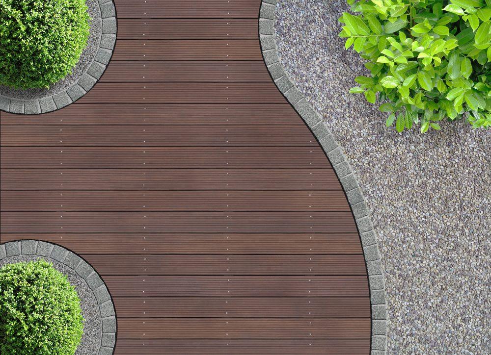 3. Ajouter de jolies courbes à votre patio