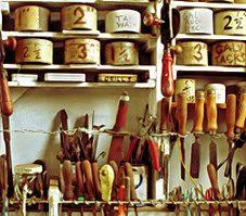 5. Classer les accessoires dans l'atelier