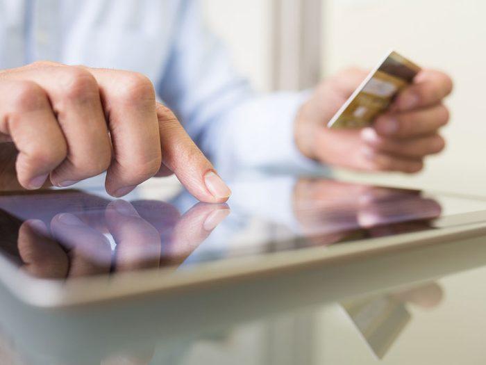 Contacter vos fournisseurs de service pour épargner