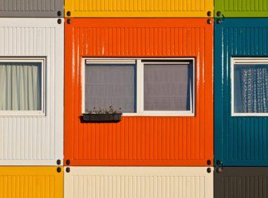 Maisons-conteneurs - Amsterdam, Pays-Bas
