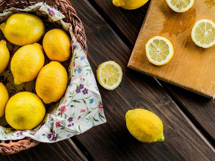 Tirez le maximum de vos citrons