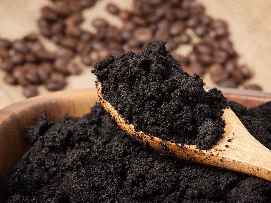 Réutilisez le marc de café
