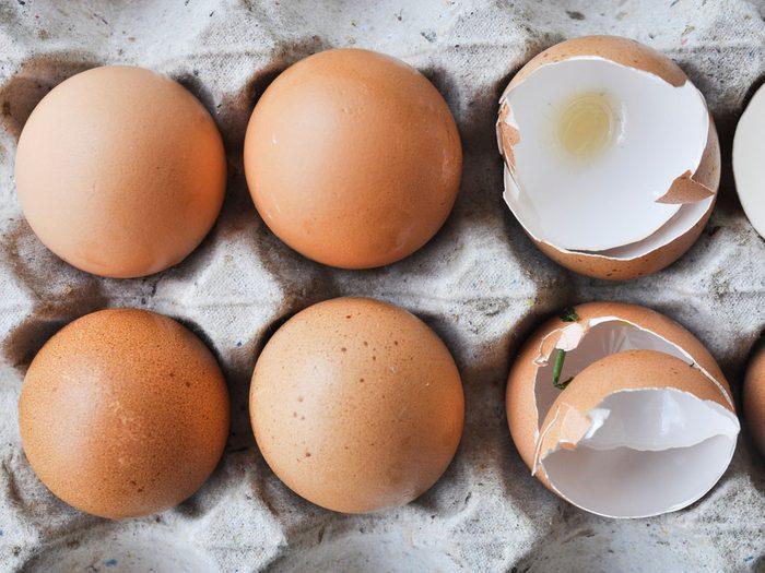 Conservez vos œufs plus longtemps