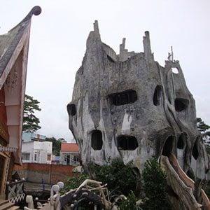 5. «Maison dingue», Dà Lat, Viêtnam