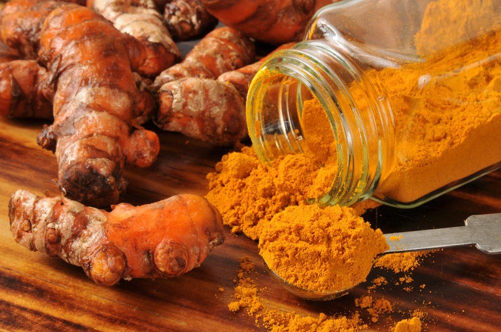 Turmeric is a fat-burning food