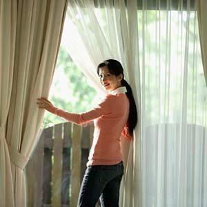 7. Nettoyer les rideaux