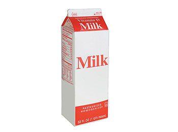 Cartons de lait