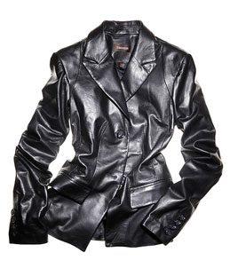 Un veston de cuir Danier