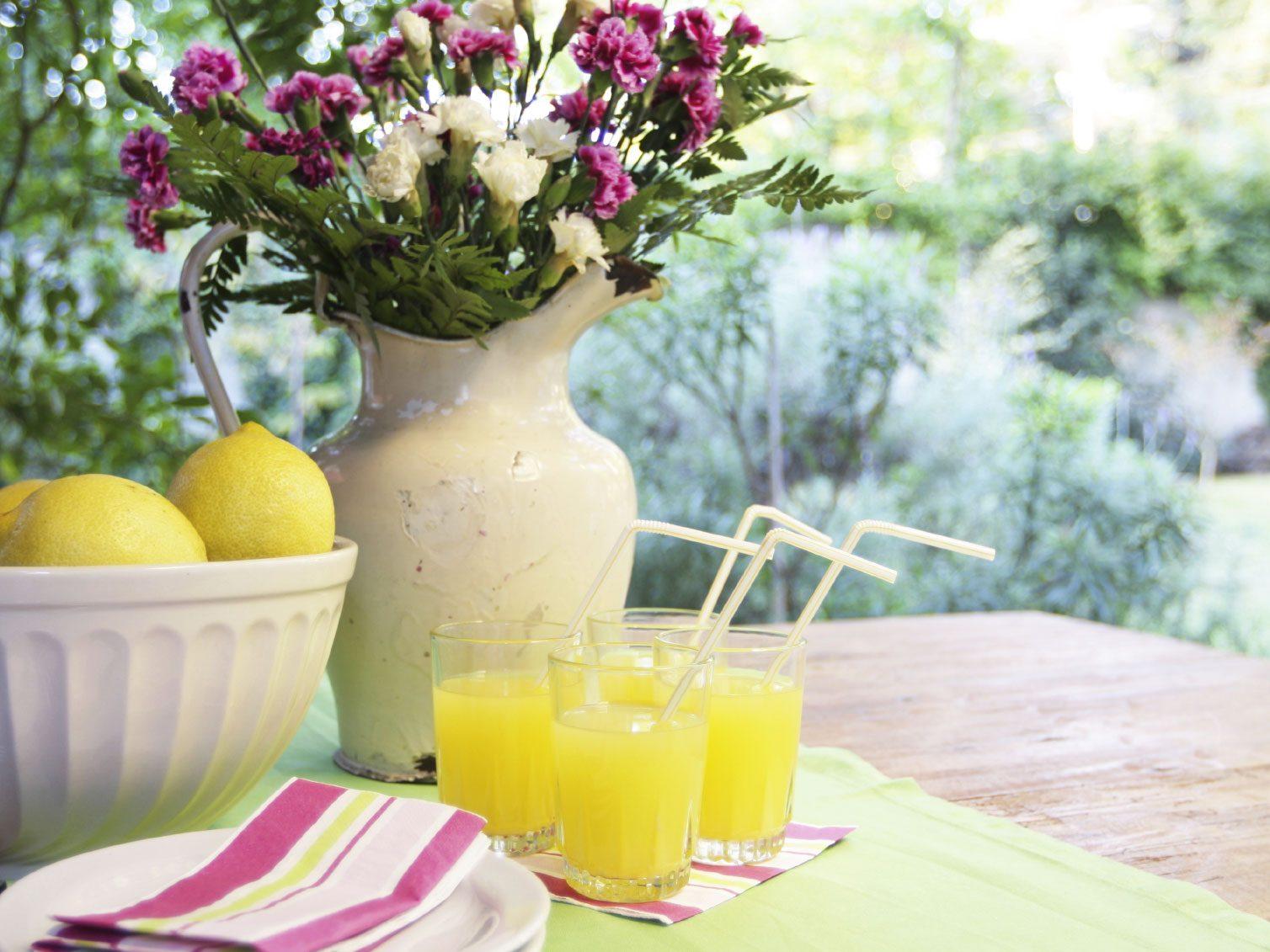 6. Optez pour un décor estival