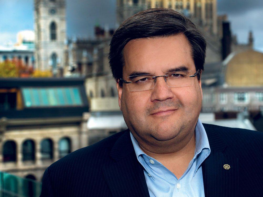 Denis Coderre, 5e parmi les personnalités en qui les Québécois ont le plus confiance