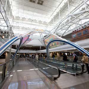 8. L'aéroport international de Denver, Colorado, É.-U.