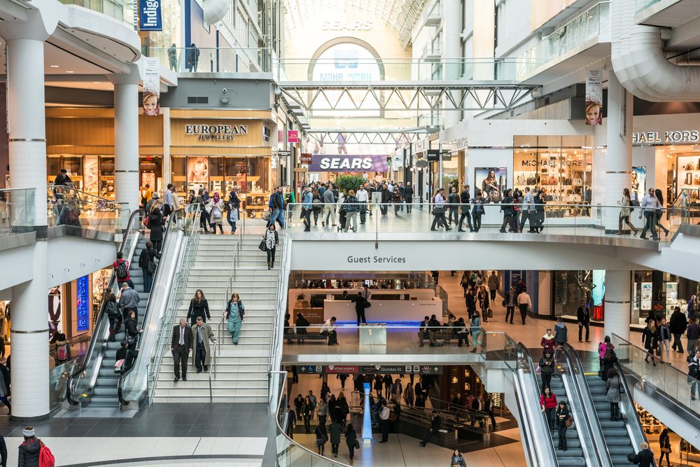 4. La destination shopping à Toronto: le Eaton Centre
