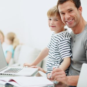 8. Passez du temps en tête-à-tête avec vos enfants.