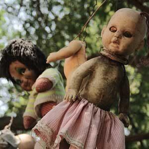 6. L'Île des poupées, au Mexique