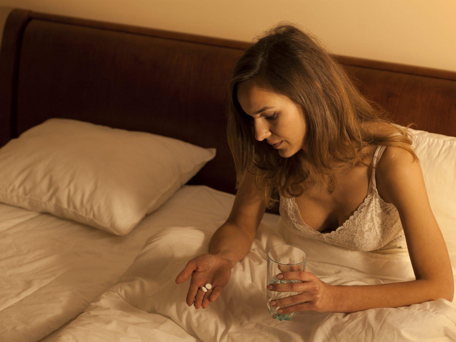 Le sommeil aide à guérir des symptômes de la gueule de bois.