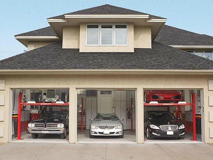 Garage de rêve : comment entreposer cinq autos dans un garage