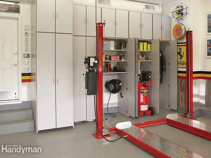 Protéger le plancher du garage