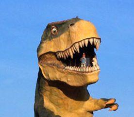 Les dinosaures de Drumheller