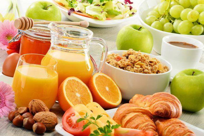 Payez votre petit-déjeuner à l'avance
