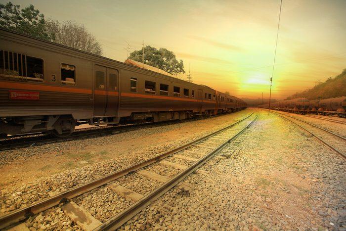 Voyagez en train