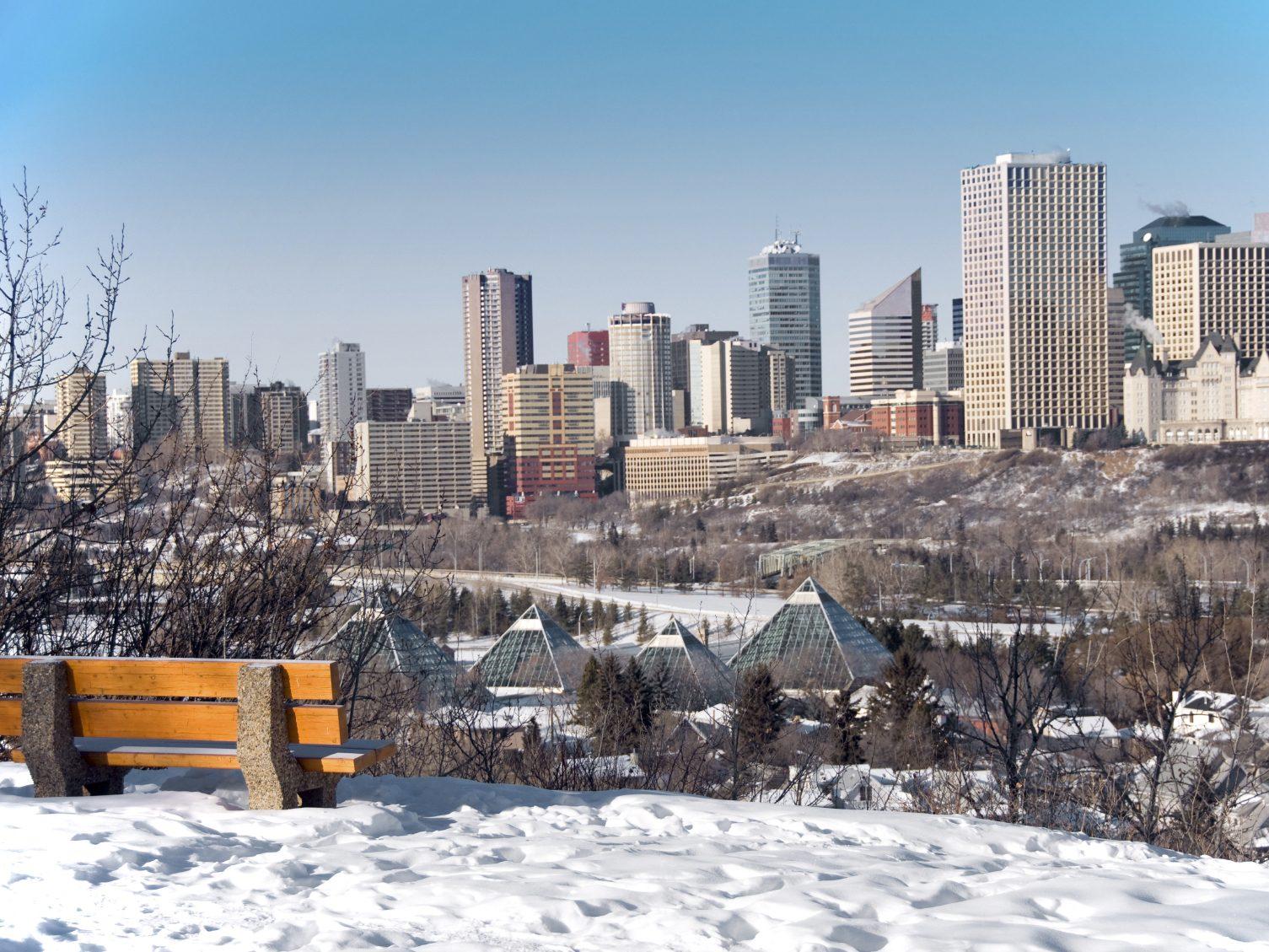 7. Edmonton, Alberta.
