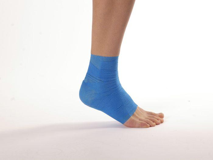 Un bandage élastique