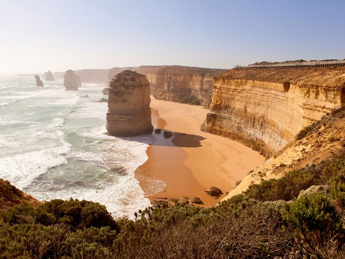 1. Australie: Crocos et cônes