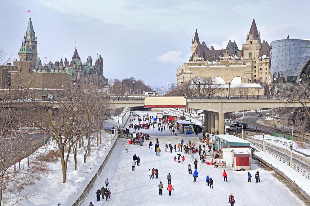 Il ne fait pas si froid à Ottawa!