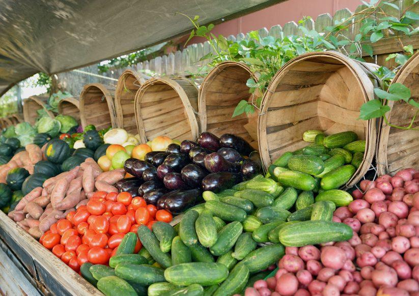 Des aliments locaux pour réduire votre empreinte carbone.