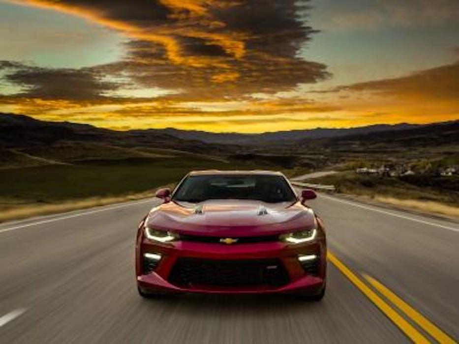 Chevrolet Camaro sport 2016 : plus légère pour une meilleure performance