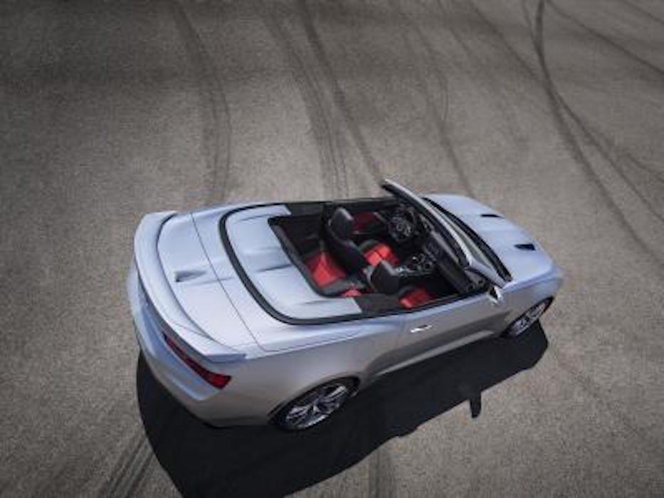 Chevrolet Camaro décapotable 2016 : un moteur plus puissant
