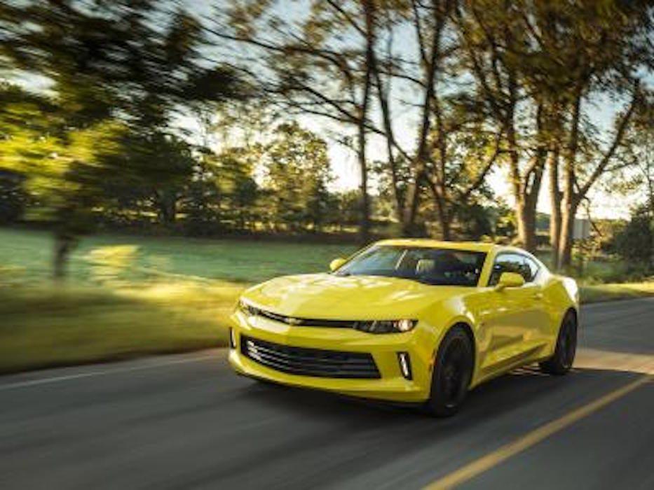 La Chevrolet Camaro 2016 est conçue pour être plus efficace