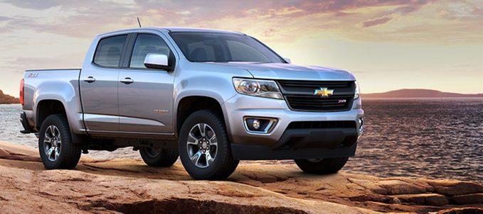 Tout sur le Chevrolet Colorado 2016