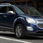 Tout sur le Chevrolet Equinox 2016