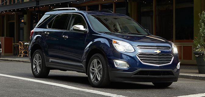 Chevrolet Equinox 2016 : nouvelles finitions disponibles