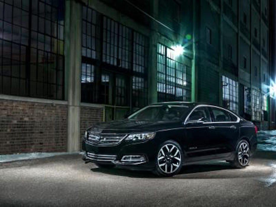Chevrolet Impala 2016 : nouvelles caractéristiques de sécurité