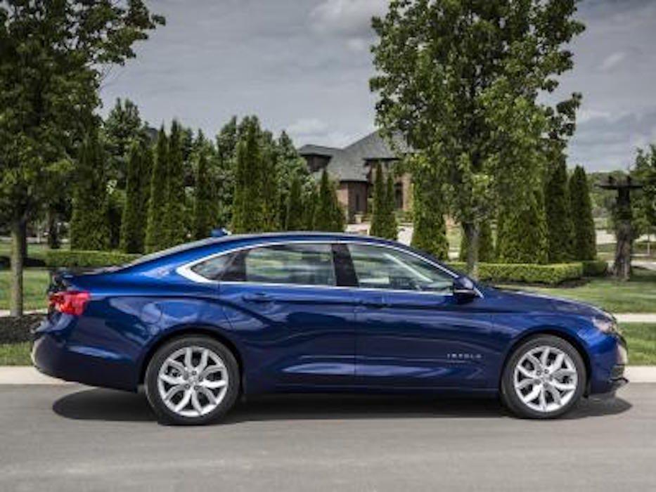 Chevrolet Impala 2016 : améliorations tant à l'interne qu'à l'externe
